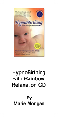 Hypnobirthing with rainbow relaxation cd by marie mongan